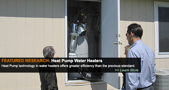 Featured Research: Heat Pump Water Heaters