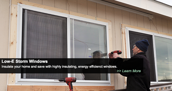 Low-E Storm Windows